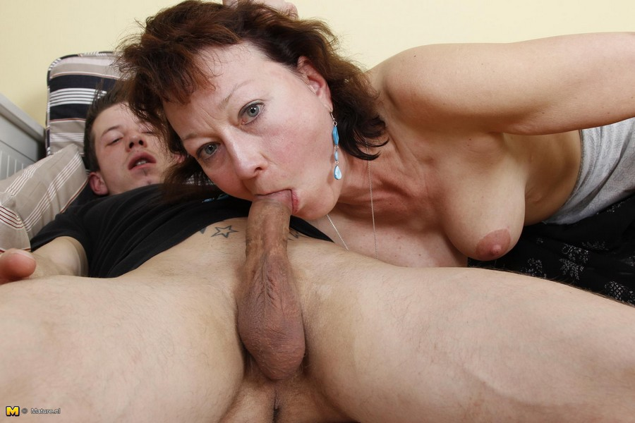 Mature wife toy boy